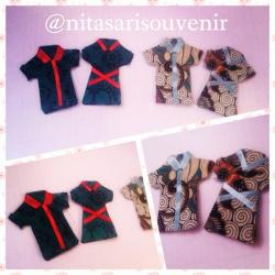 Magnet baju batik couple